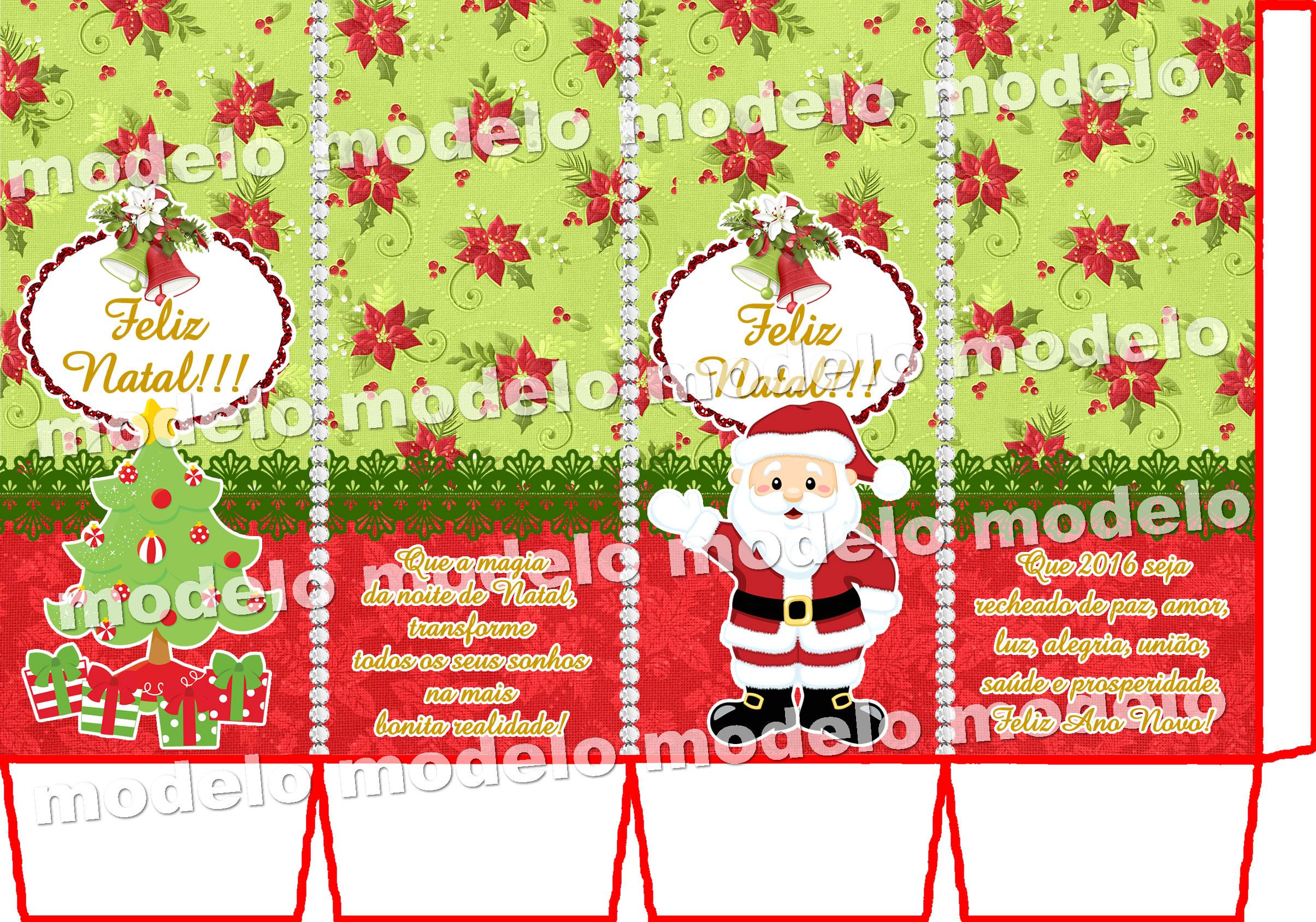 Caixa Milk Natal Tamanho P No Elo7 Debora Planner 60762e