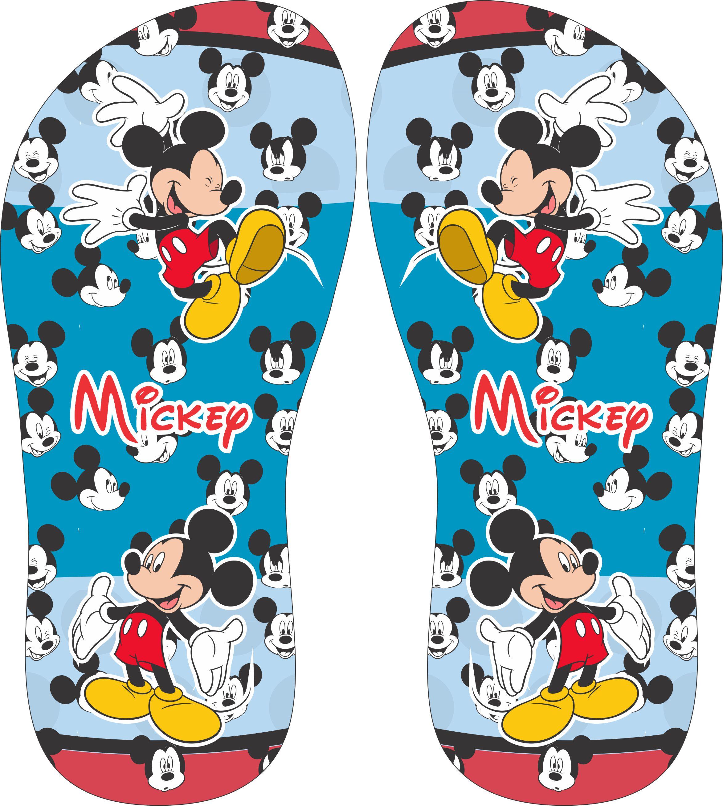 Chinelo Personalizado Mickey Cod 01 No Elo7 Santa Lembrancinha