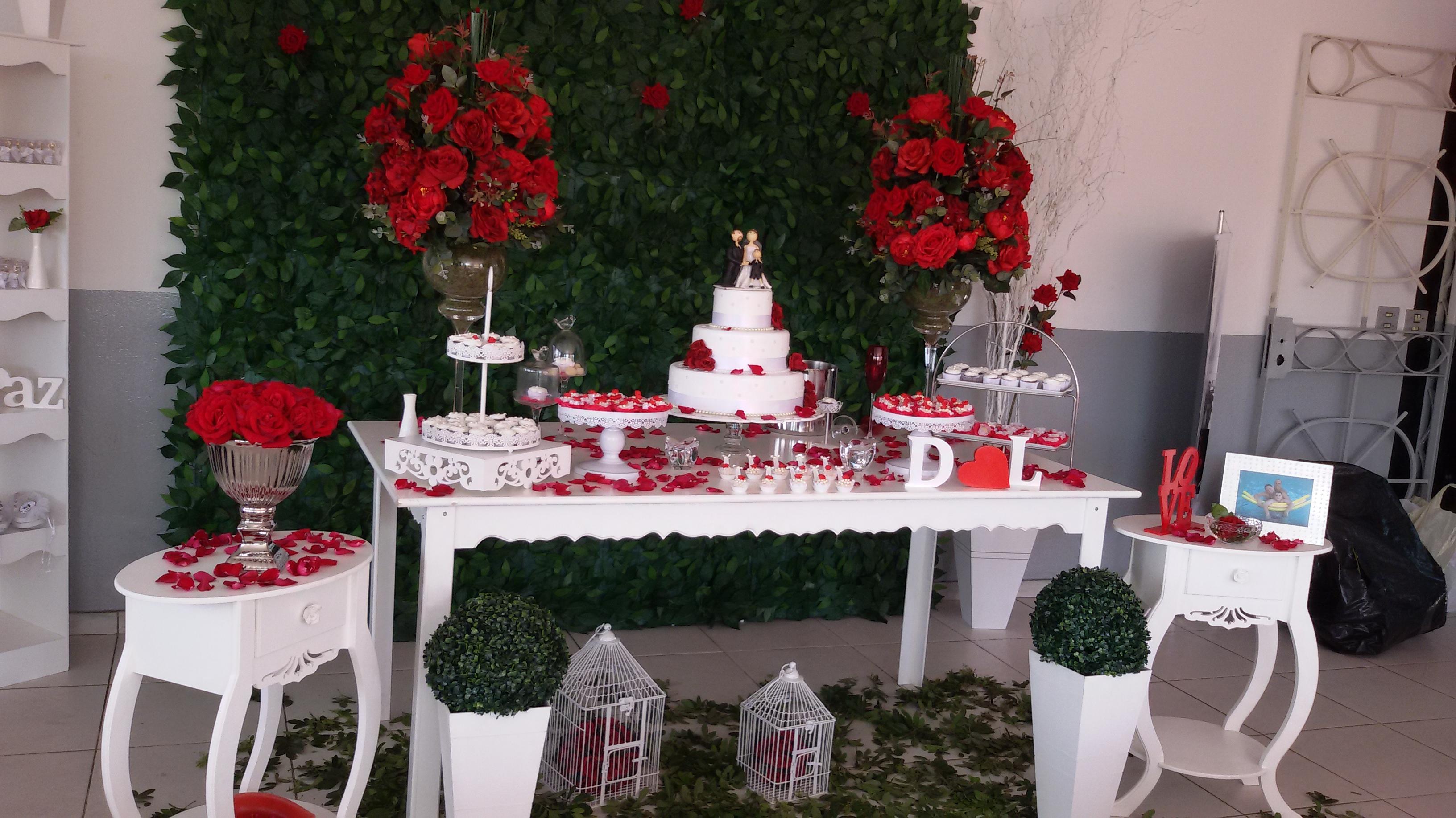 decoracao de casamento vermelho e branco decoracao de casamento