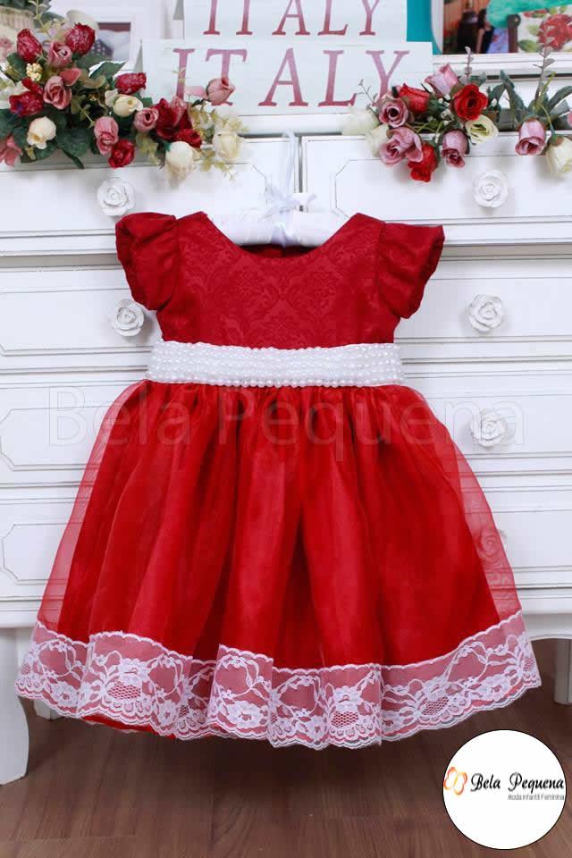 Vestido de festa infantil natal rn