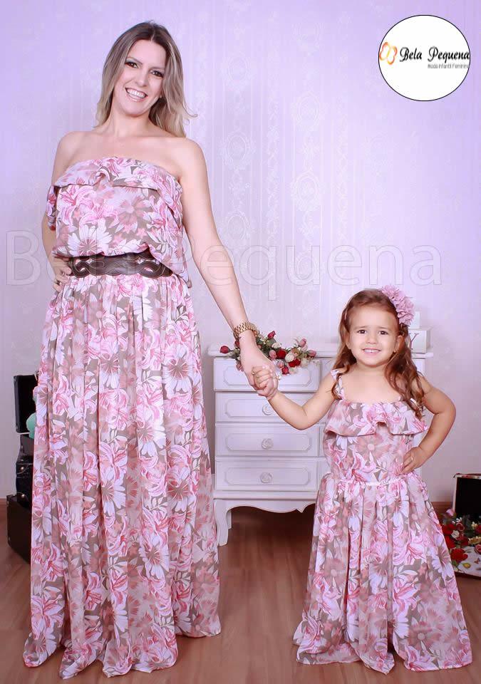 32bf9b1e1 Vestido Florista Casamento Tal Mae Tal Filha | Elo7