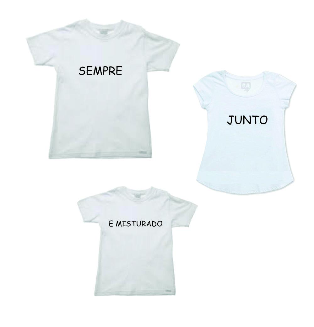 Camiseta Personalizada Familia Elo7