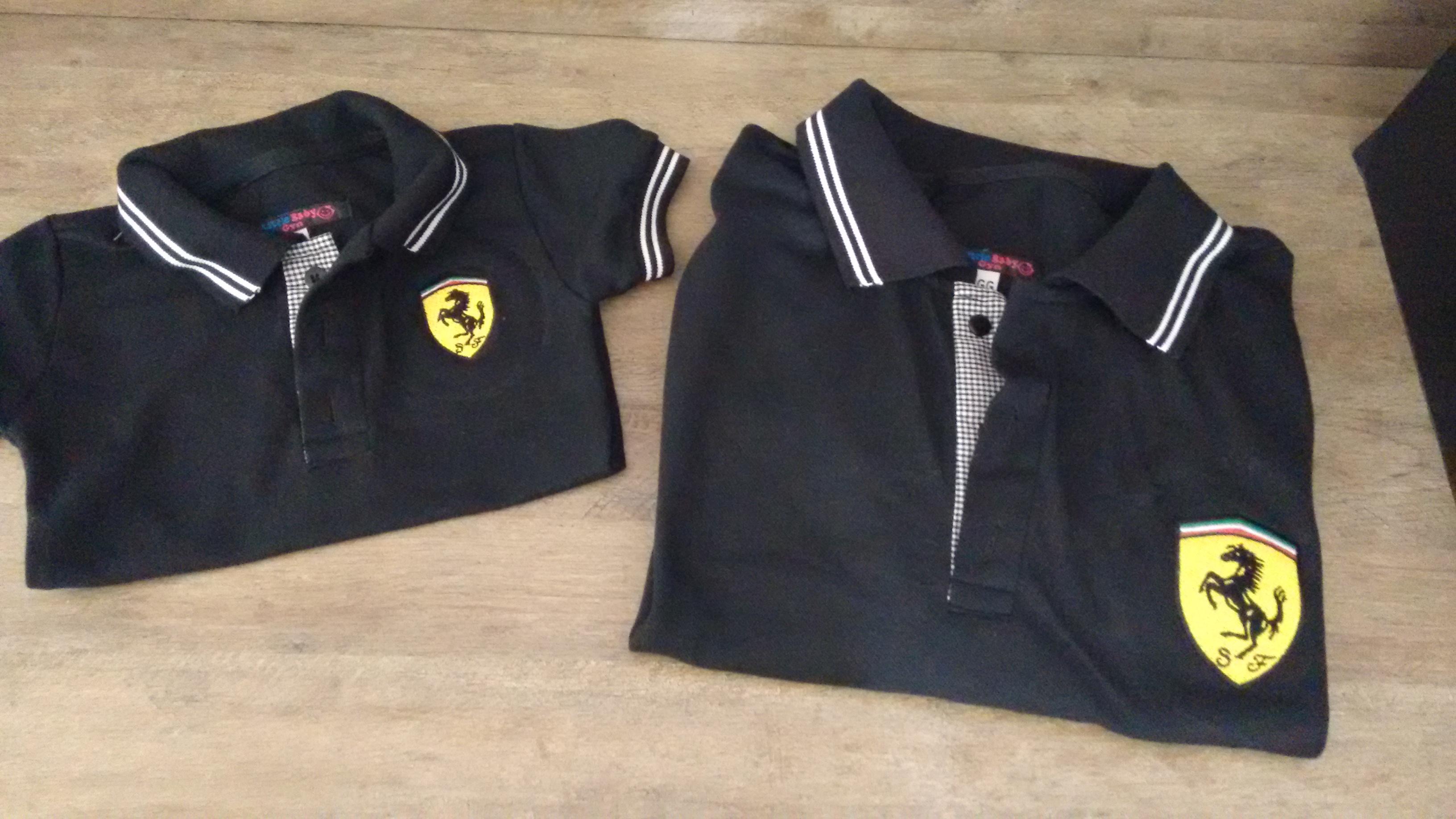 Camisa Ferrari  e77283fa09358