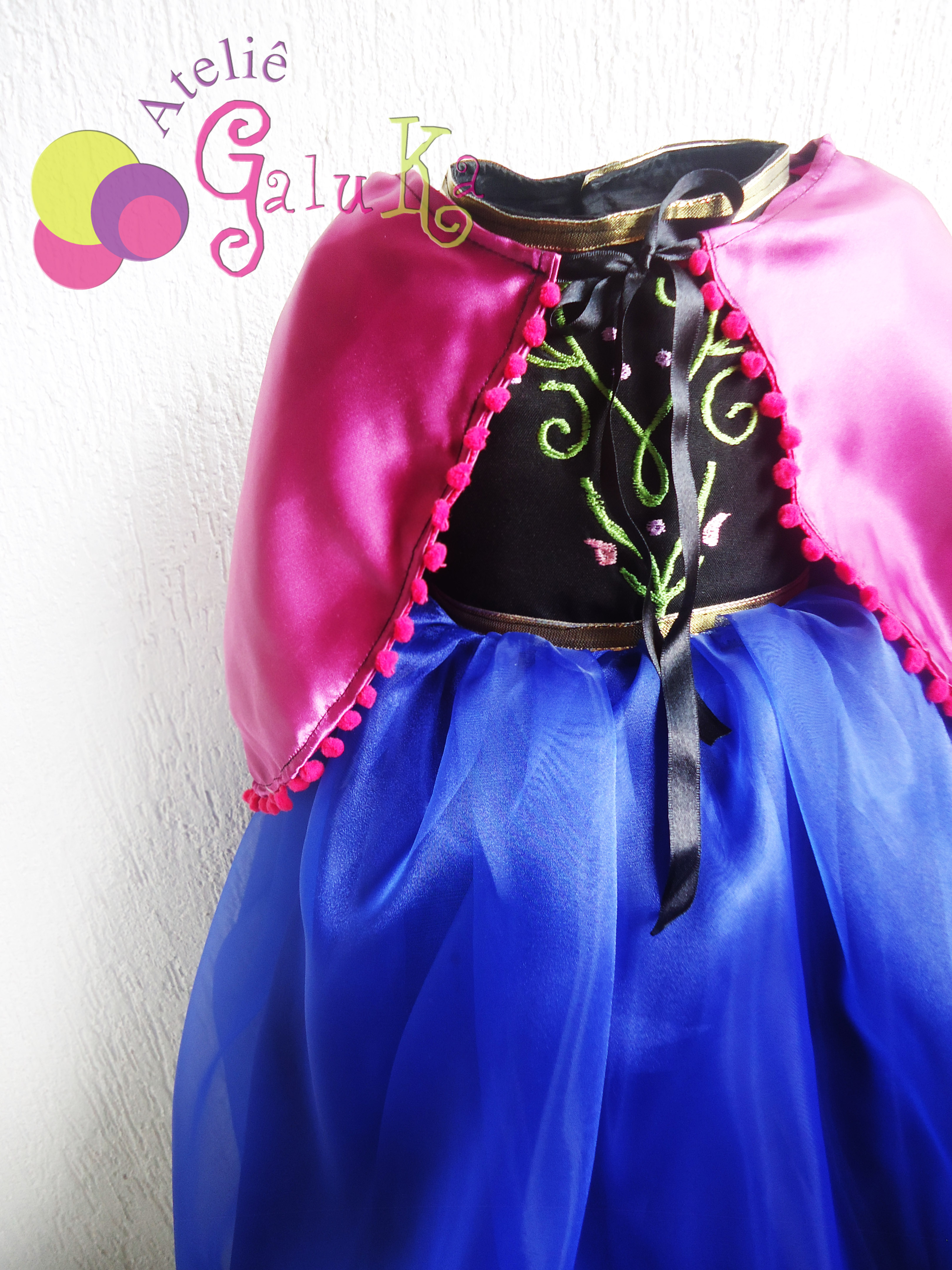 Vestido Anna Frozen