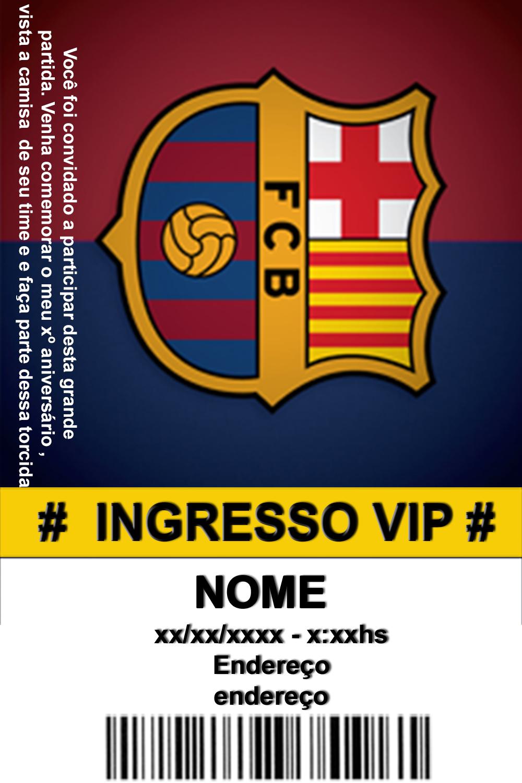 Convite Digital Barcelona No Elo7 Vida Em Retrospectiva 613464