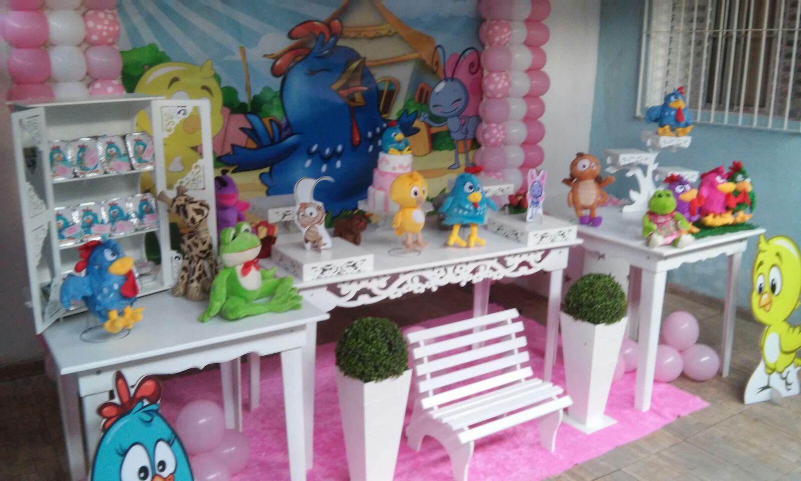 DECORA u00c7ÃO GALINHA PINTADINHA ROSA ELAINE CRISTINA DA SILVA XAVIER Elo7 -> Decoração De Festa Infantil Da Galinha Pintadinha Rosa