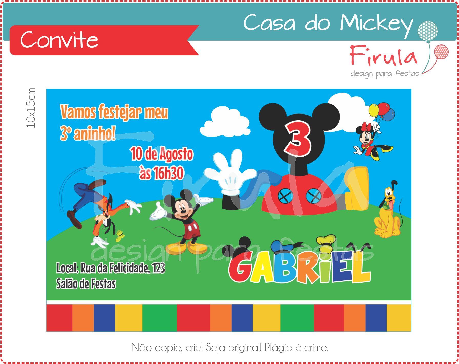 Kit Digital a Casa do Mickey  8ab07e014147c
