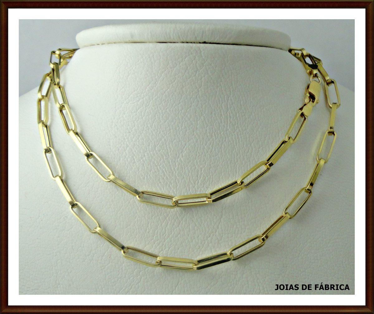 60c7aa0670c Cordão em ouro Cartier 18k no Elo7