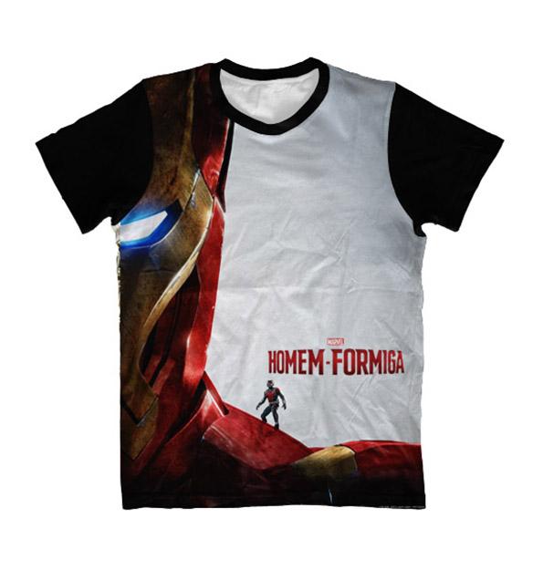 cba51ecbfc Camiseta Camisa Homem Formiga com Nome