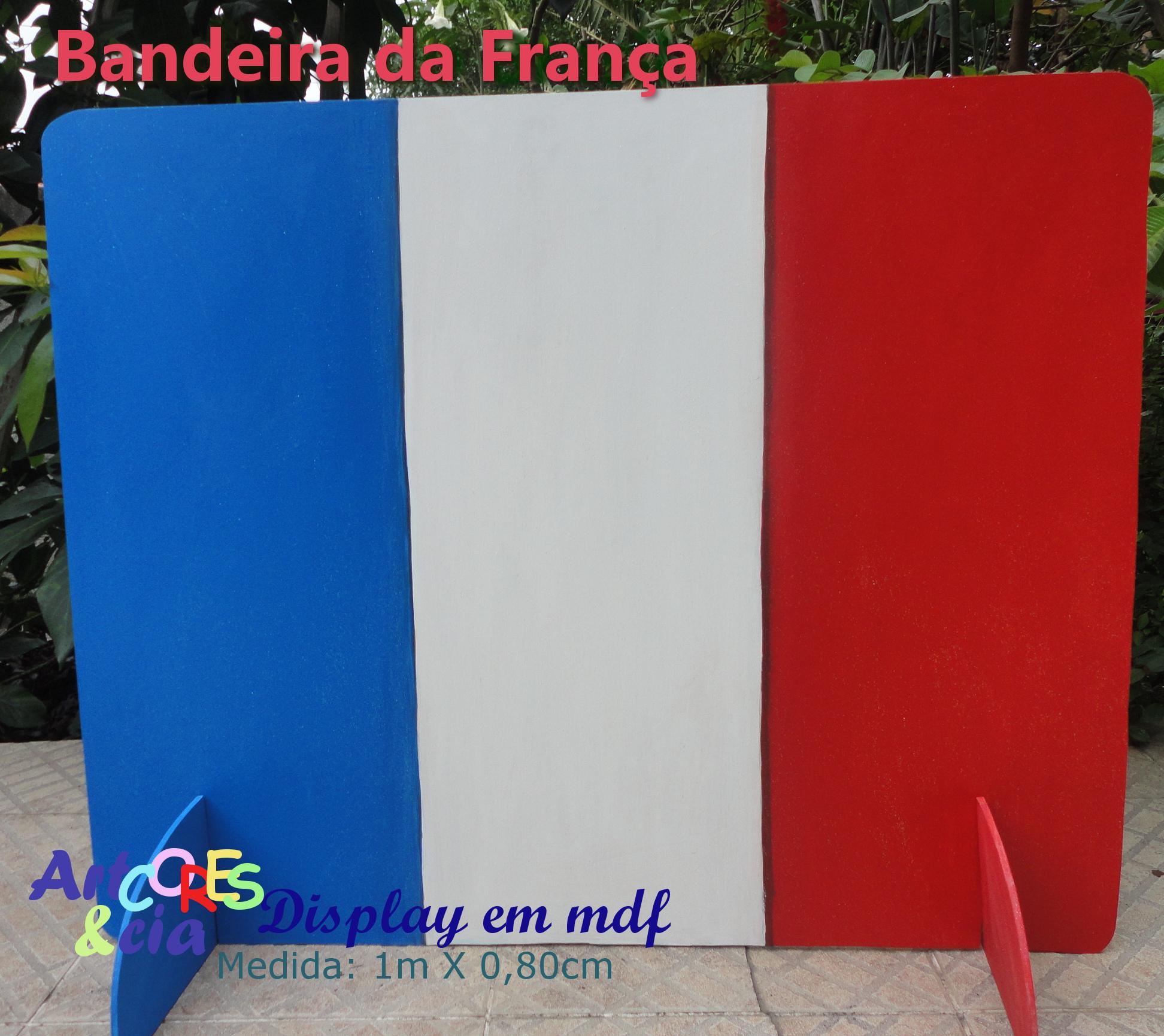 Extremamente Bandeiras do Brasil e da França em mdf no Elo7 | ARTCORES & CIA  YV52