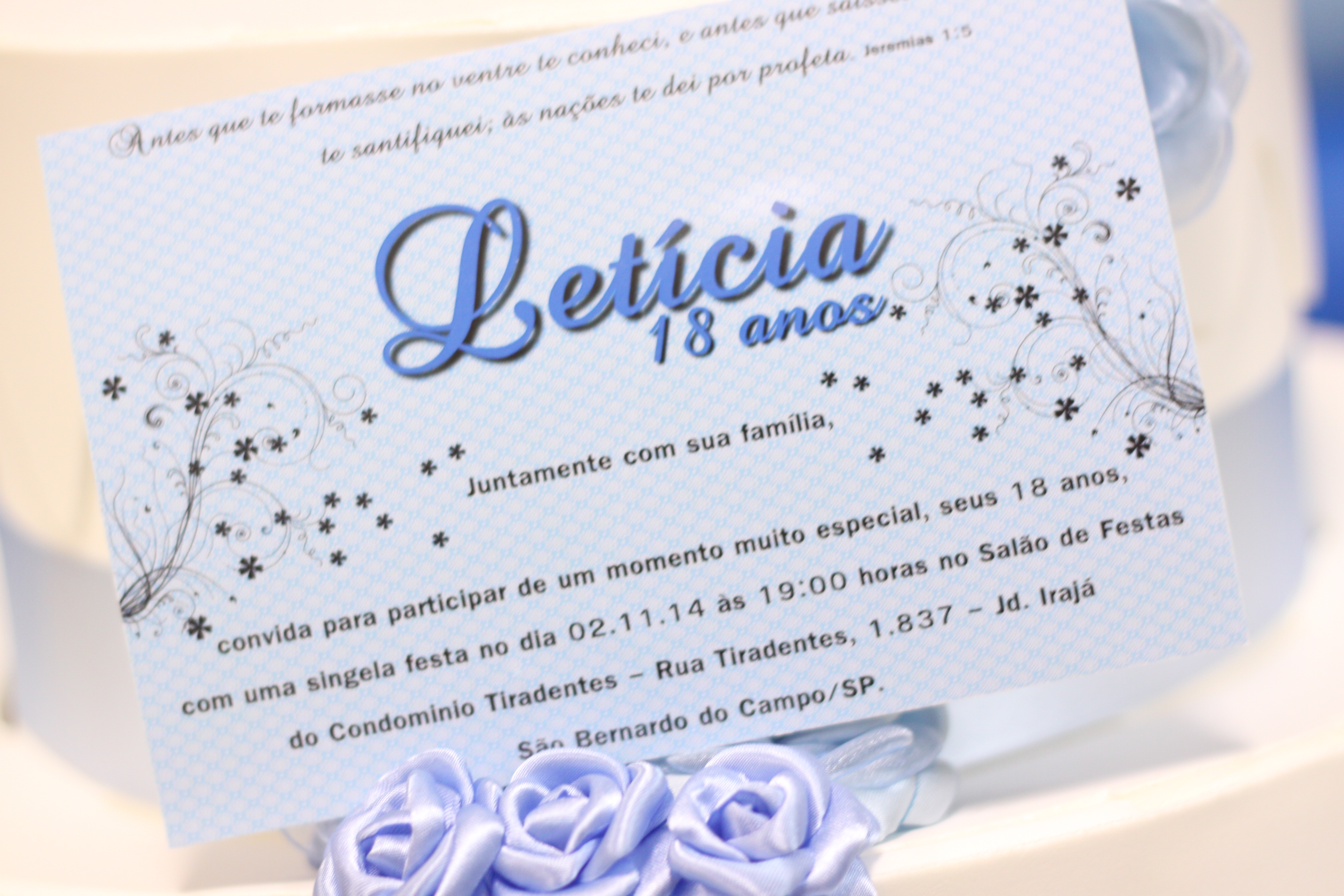 Tag Convite De Aniversario 18 Anos