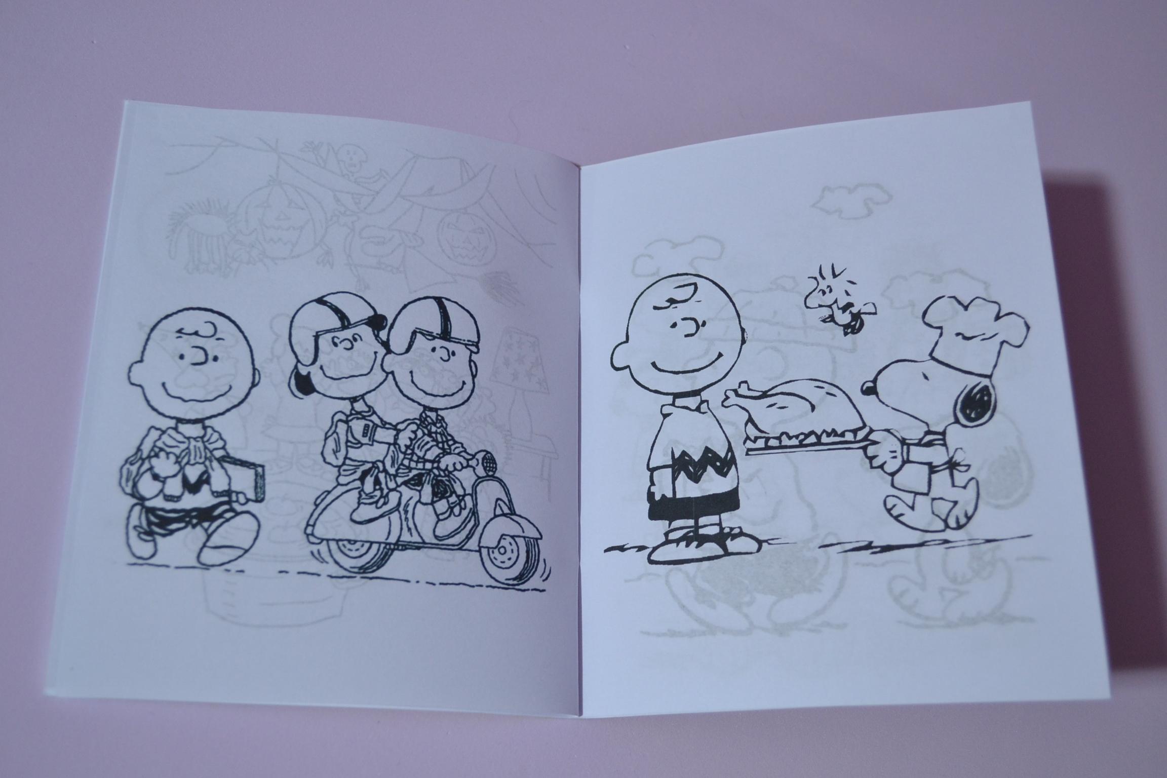 Livrinho De Colorir Snoopy No Elo7 Emotion Festas Personalizadas