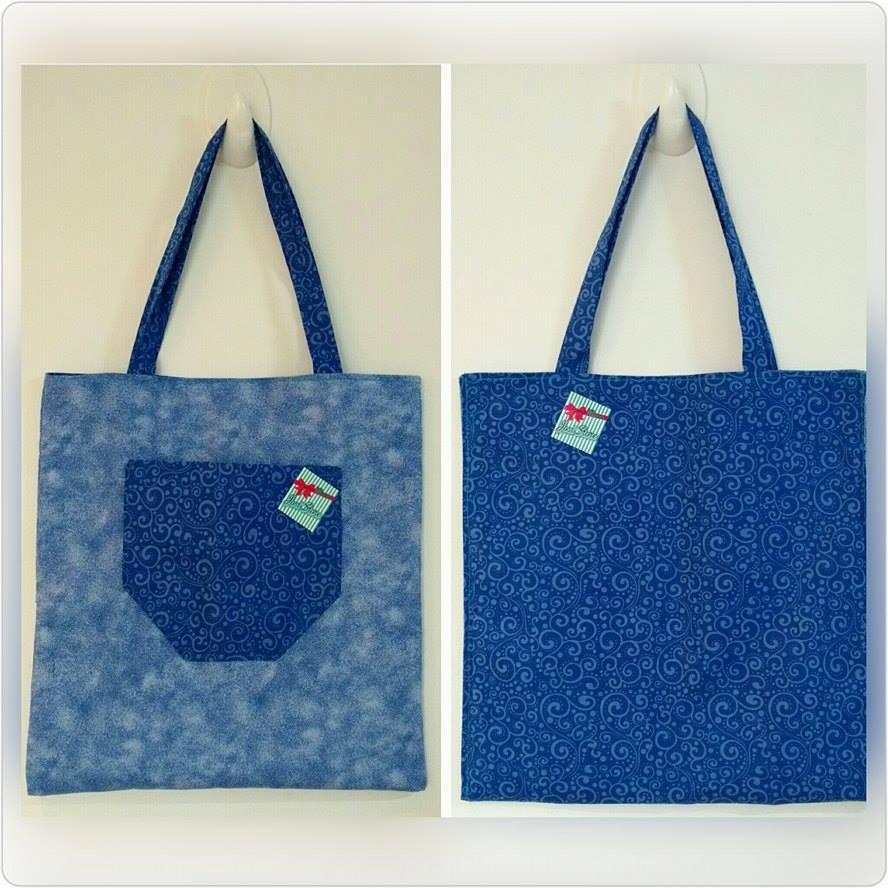 Eco Bag Dupla Estampa  41d4c35f286
