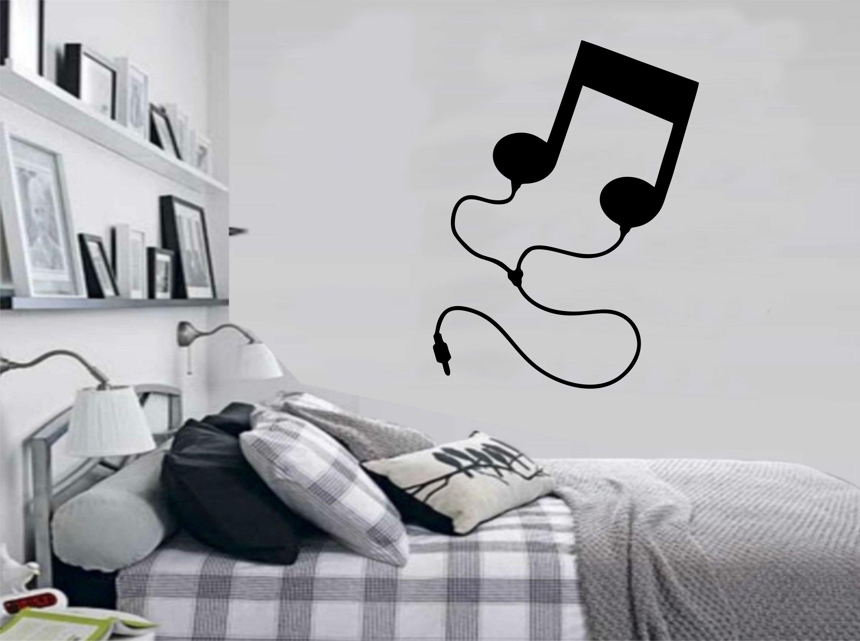 Adesivo Parede Musica Notas Musicais No Elo7 Colar Adesivos 633a84