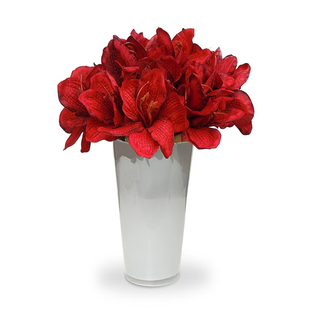 Top Arranjo de flores artificiais vermelhas no Elo7 | Felicitadecor  NH68