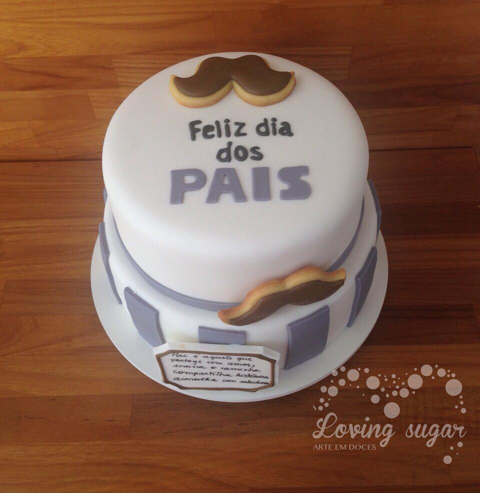 Resultado de imagem para bolo de dia dos pais
