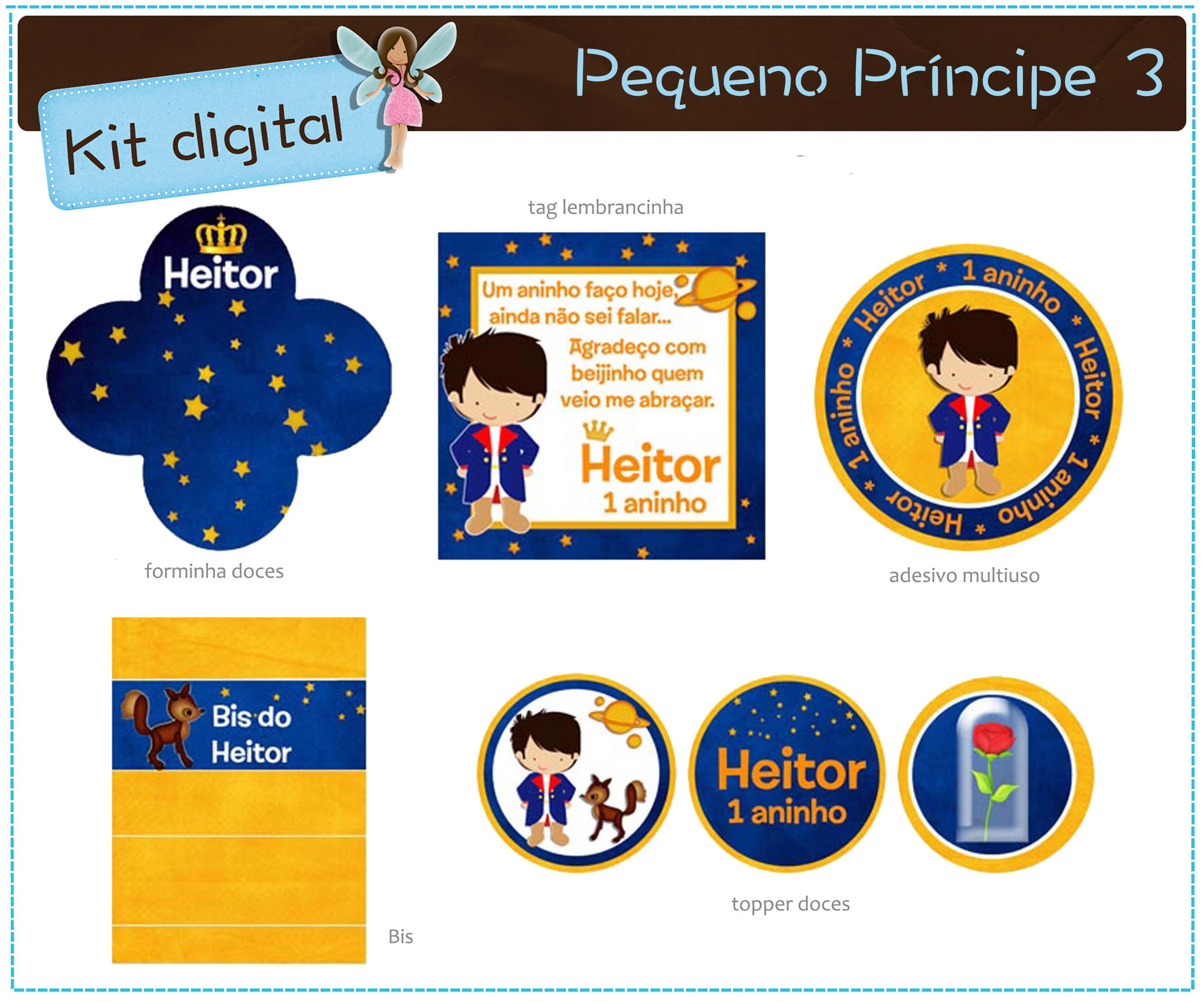 Kit Digital Pequeno Principe Para Imprimir No Elo7 Atelier