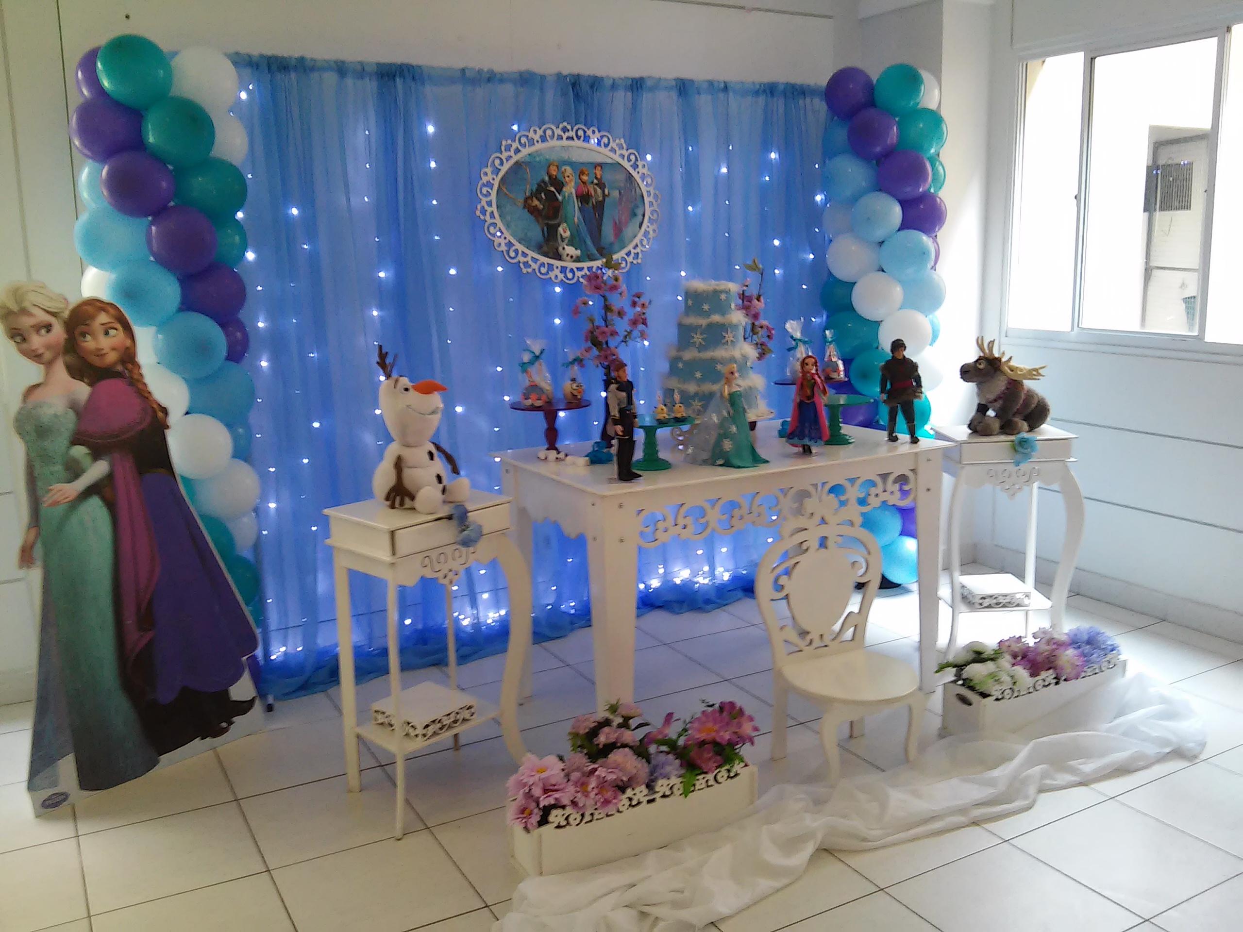 Decoração Frozen Com Led No Elo7 Rede Festas Decorações 64498e