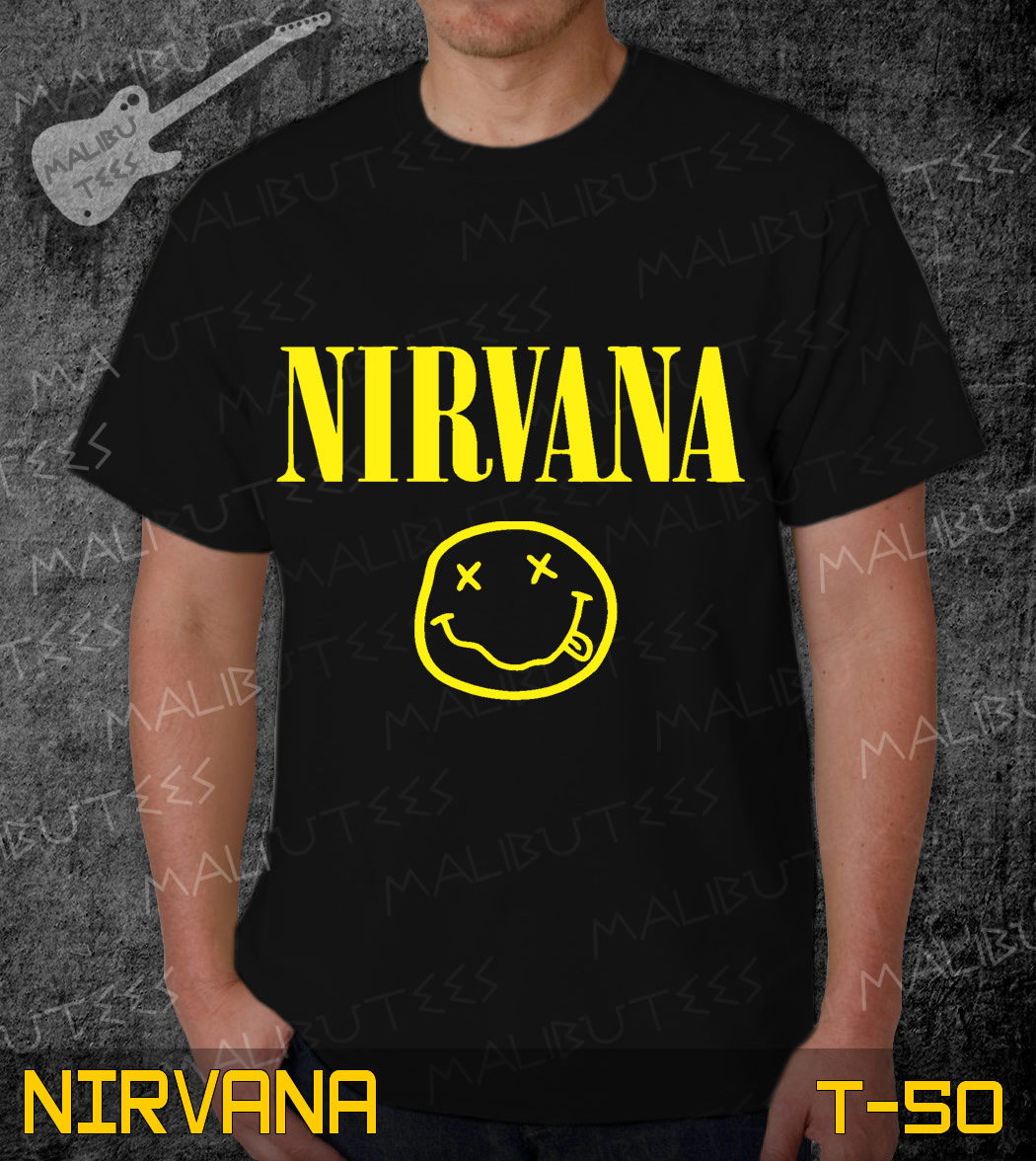 Camiseta Infantil Nirvana Rock no Elo7  f8a193db654