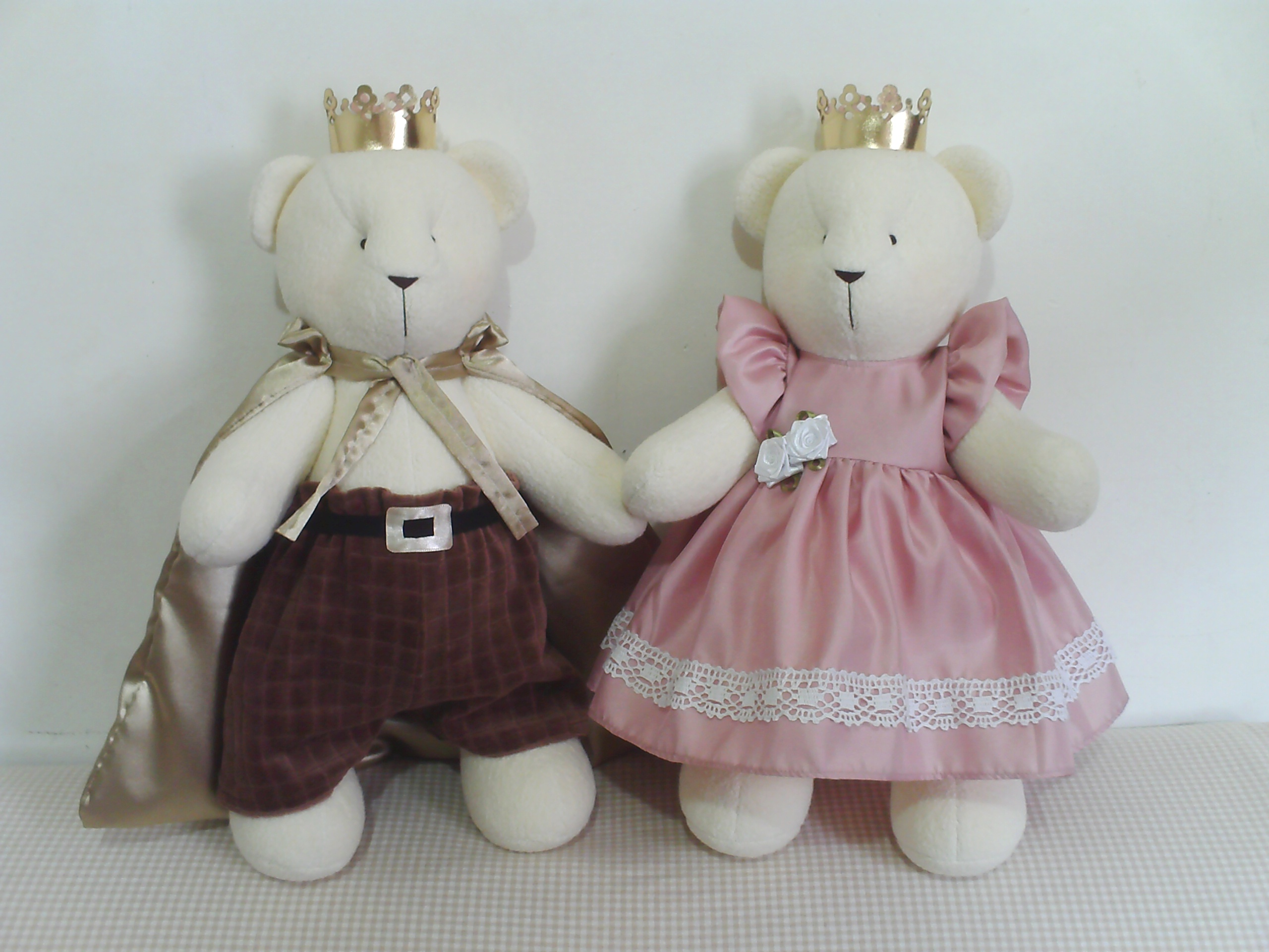Casal Ursos Principes Namorados   Elo7 334e357caa
