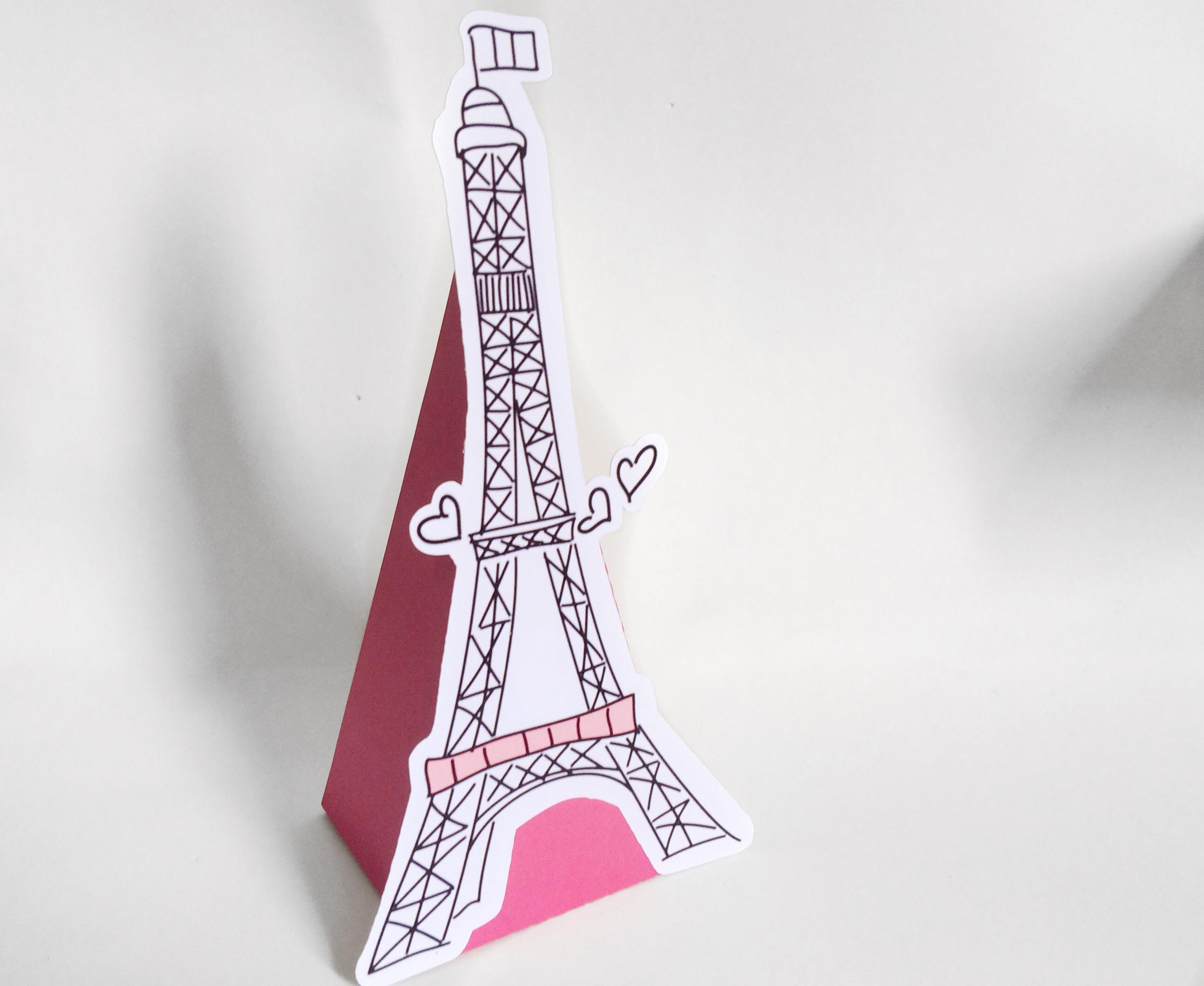 Cone Torre Eiffel No Elo7 Doce Princesa Scrap Lembrancinhas E