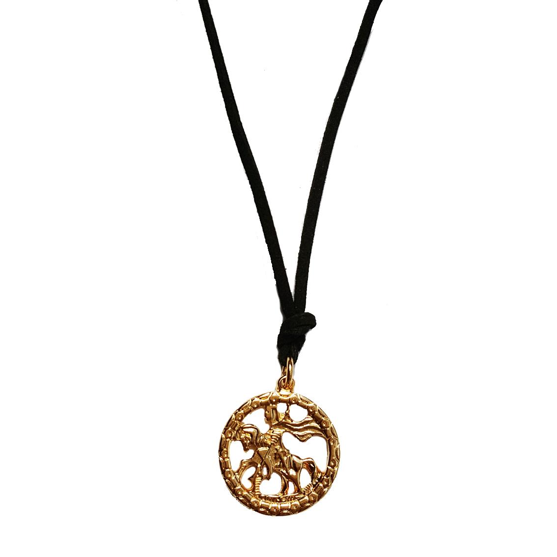 5a5701e7b3683 Colar Medalha de São Jorge Grande   Elo7