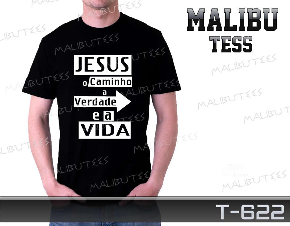 5e653312f Camiseta Gospel Jesus é o Caminho no Elo7