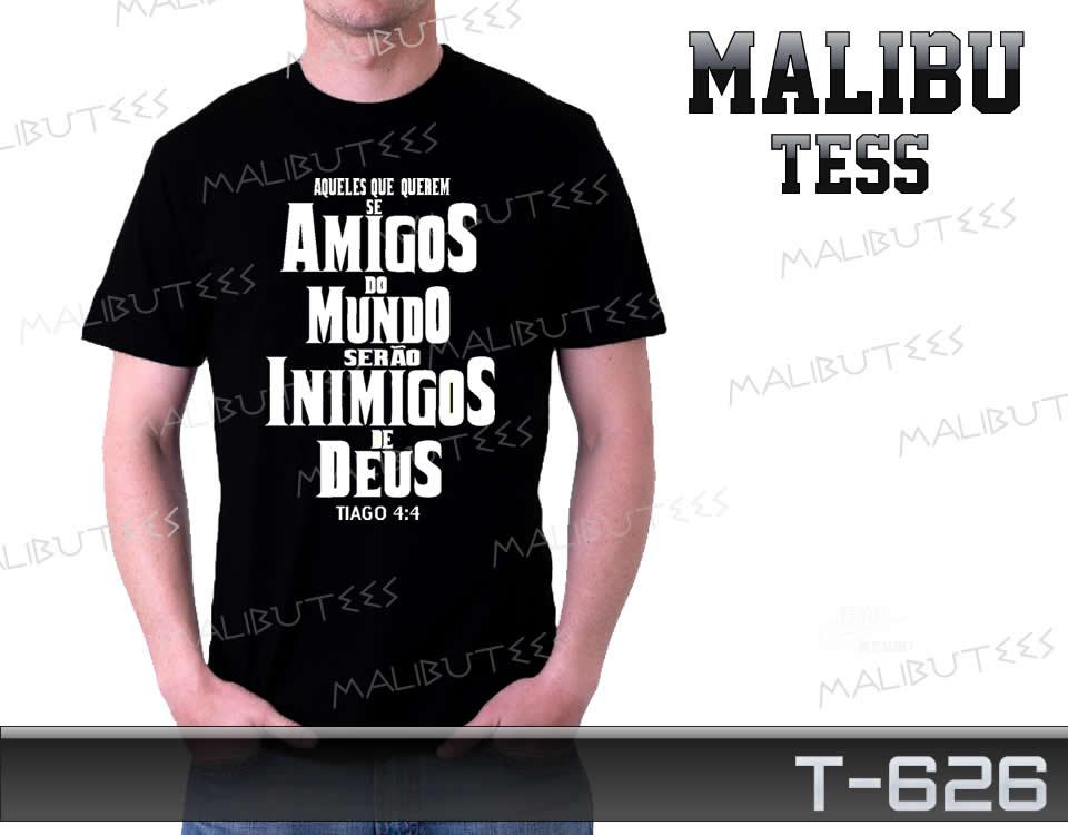 ad56d26a42c Camiseta Gospel Amigos do Mundo