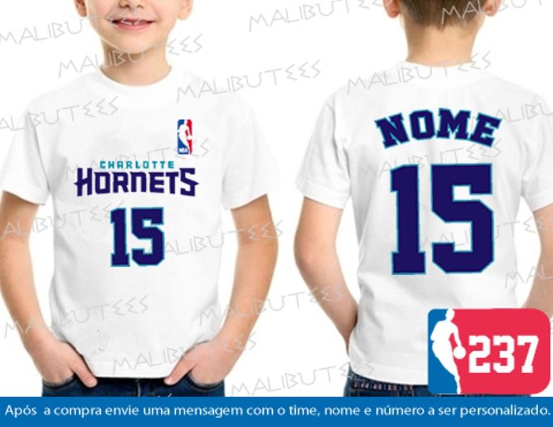 b8a8eaebe Camiseta Charlotte Hornets