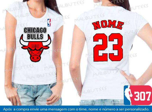 a55cddc80 Camiseta Infantil Chicago Bulls Basquete
