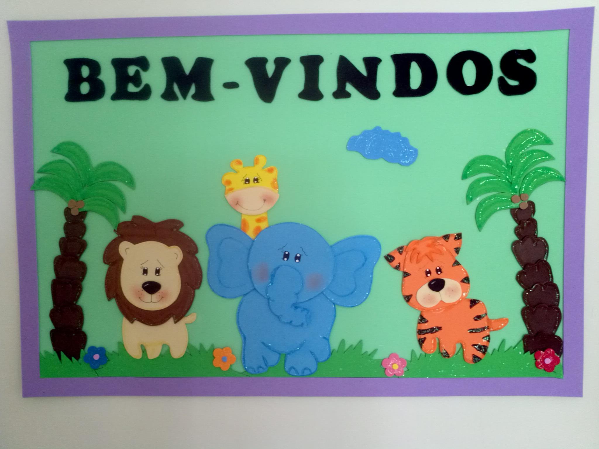 Decoração Sala de aula animais