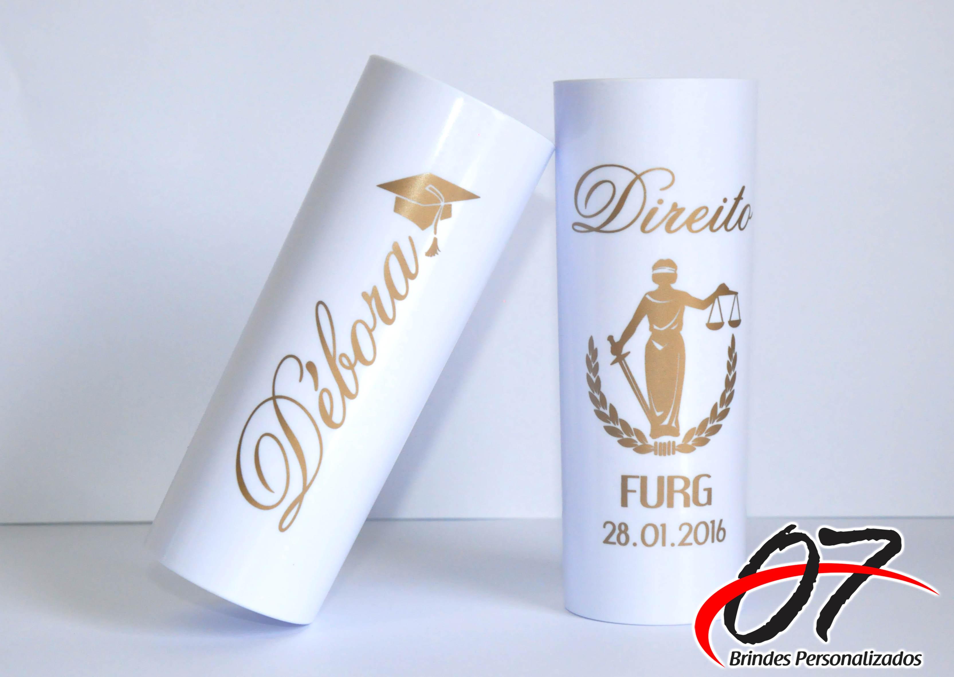 Adesivo De Chão Personalizado Sp ~ Copos para Formatura, Long Drink 07 Brindes Personalizados Elo7