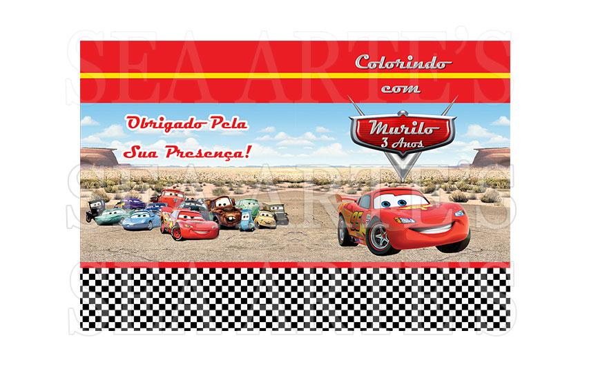 Kit Colorir Carros Disney No Elo7 Sea Artes 654e2d