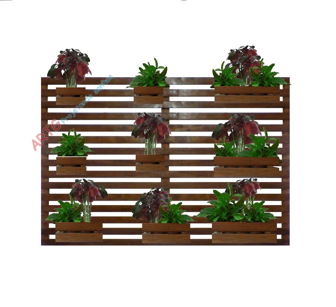 2 Floreira Vertical Jardim 7 Cachep S No Elo7 Jardim Vertical E  -> Floreira Vertical