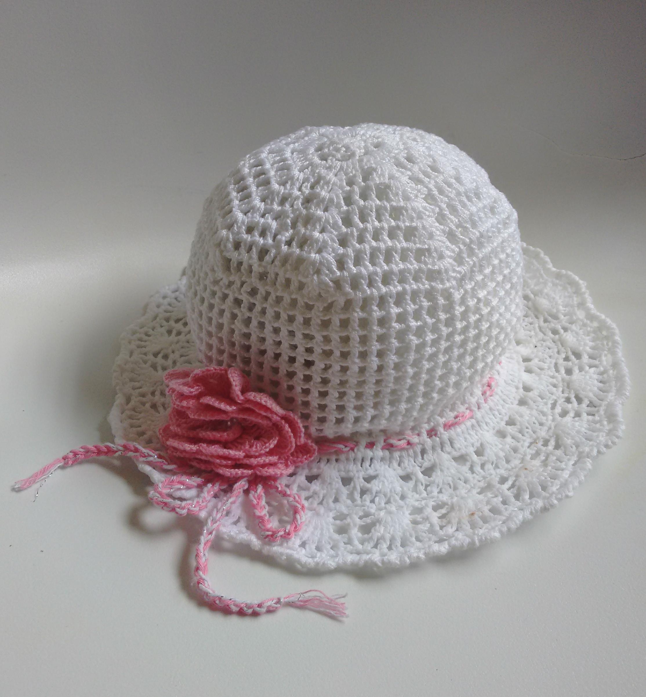 Chapéu de Crochê  9a5240e3c0f