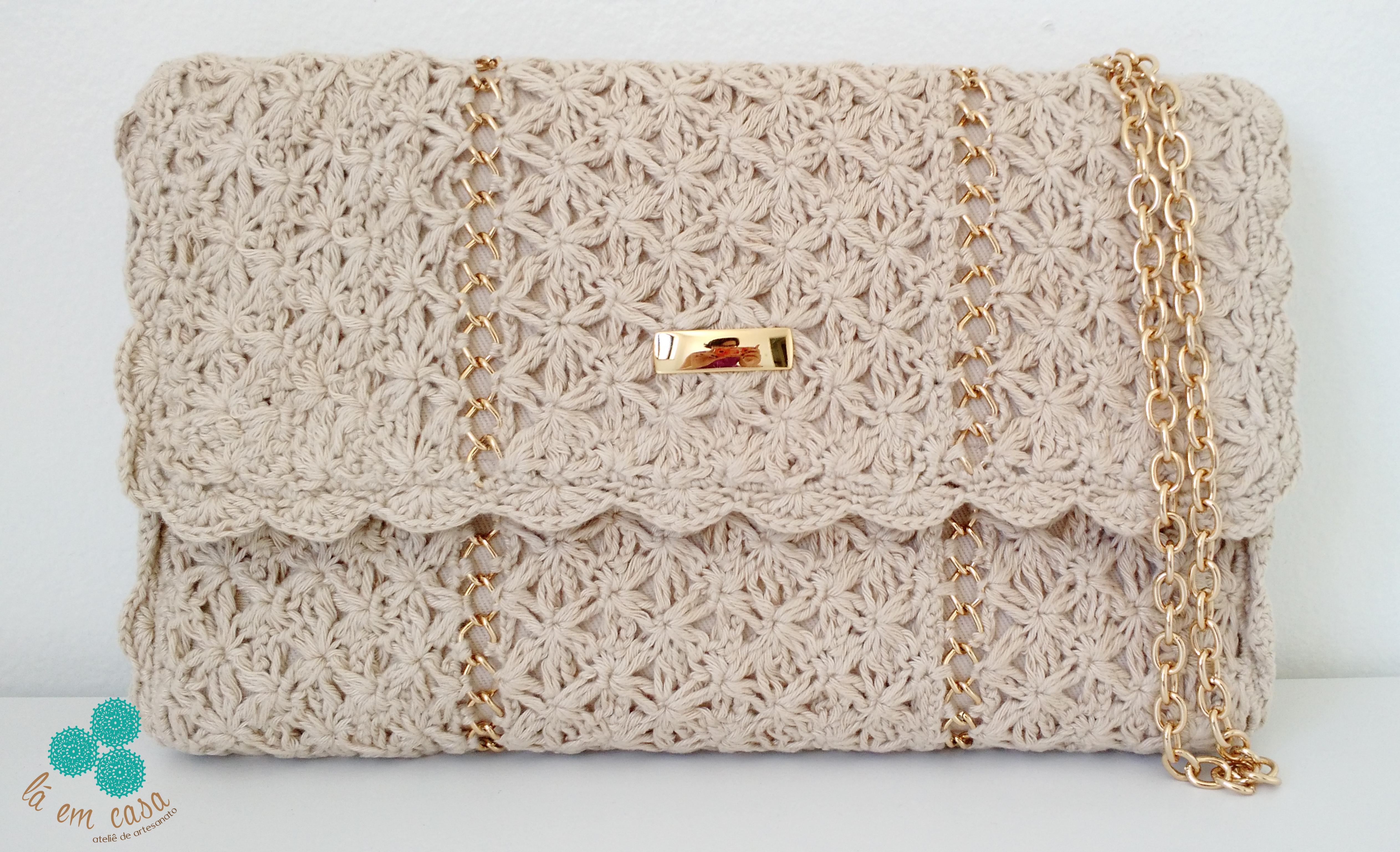 Bolsa De Croche Para Casamento : Bolsa de croch? l? em casa ateli? artesanato elo