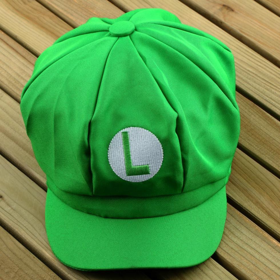 Boné do Luigi  7803c8a77e4
