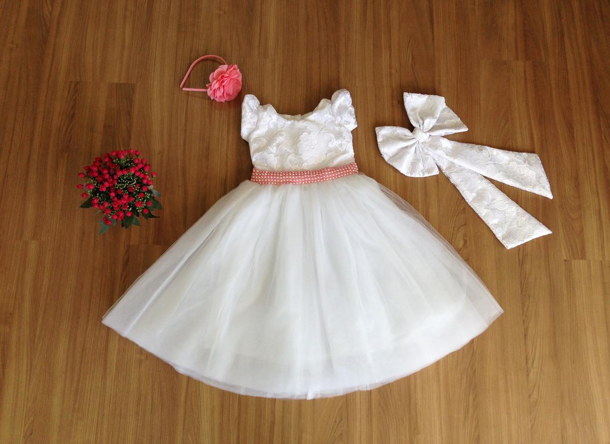 f43d65226 Vestido de Batizado - Infantil no Elo7 | Liminha Doce - Moda ...