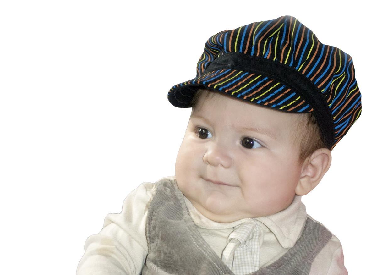 Boina Infantil Masculina Listrada no Elo7  56b388368d0