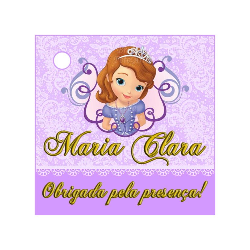 Tag Princesinha Sofia No Elo7 Brenda Foto Arte 66a08f