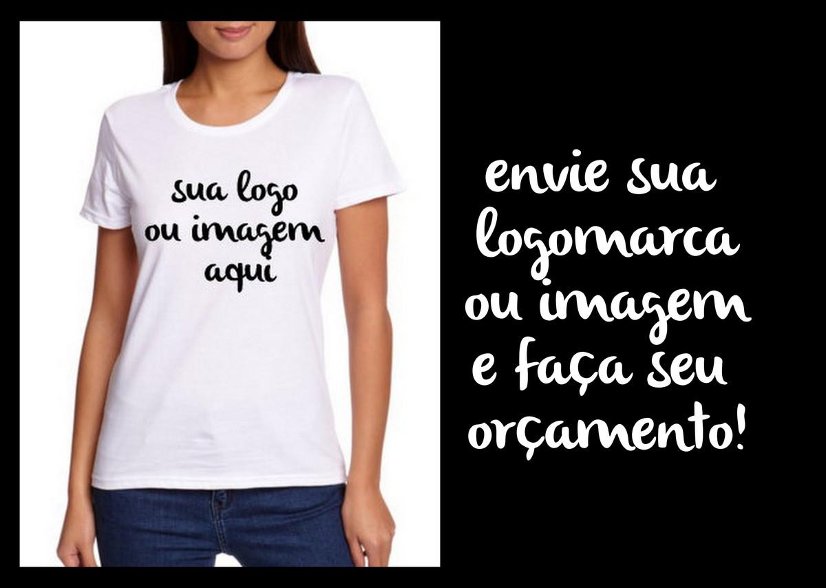 Camiseta B. look 100% algodão c  1 cor no Elo7  969a599b51001