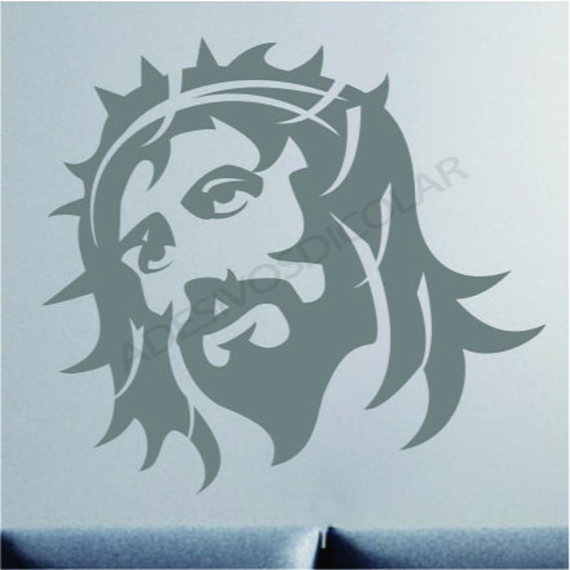 Aparador Moveis ~ Adesivo Decorativo Parede Rosto de Jesus no Elo7 Adesivos Dicolar (66D565)