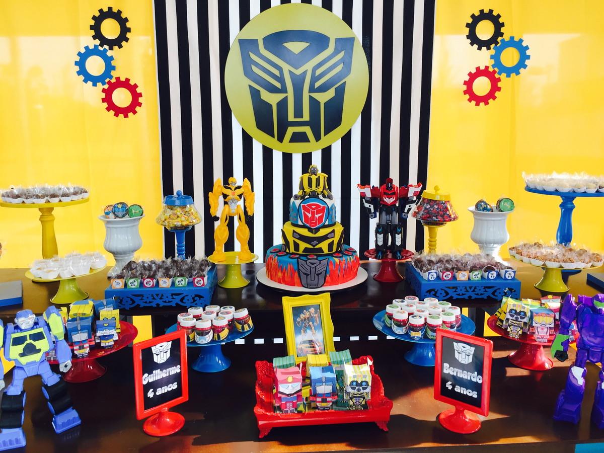 Decora o festa transformers r 350 buqu beb elo7 - Ideas para cumpleanos 2 anos ...