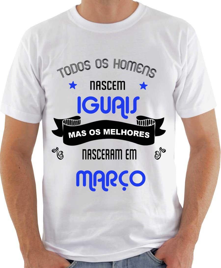 Camiseta Todos os homens nascem iguais no Elo7  c8b97f730994f