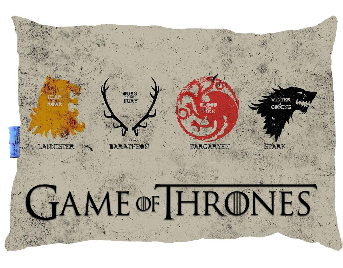 Resultado de imagem para Almofadas Game Of Thrones
