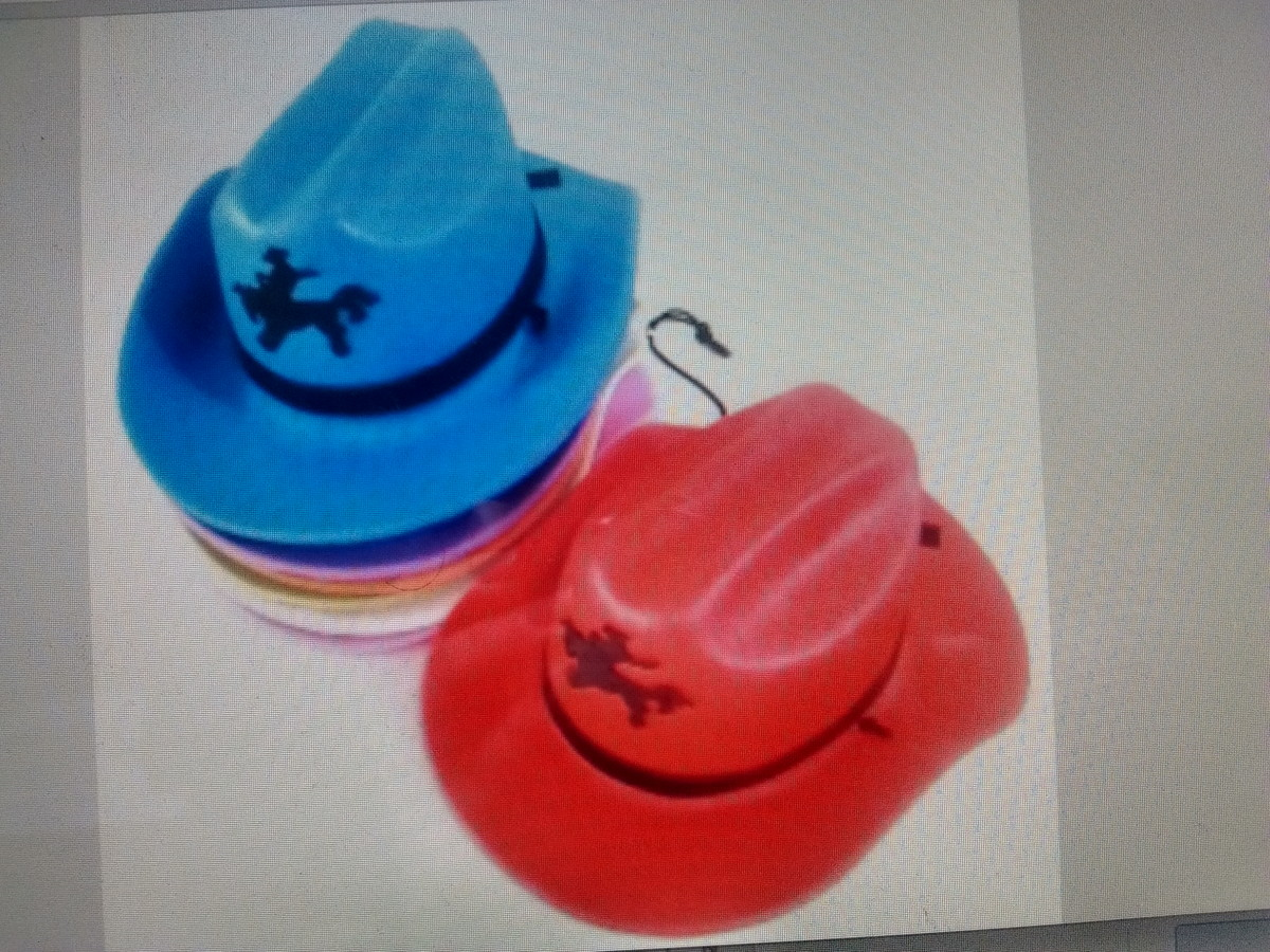 Chapéu cowboy infantil no Elo7   design   Presentes (67EB2F) bc84bbeb89
