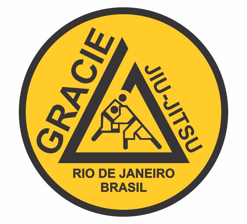 Adesivo Gracie Jiu Jitsu Rio de Janeiro no Elo7 Rodrigo Pereira (6820DF)