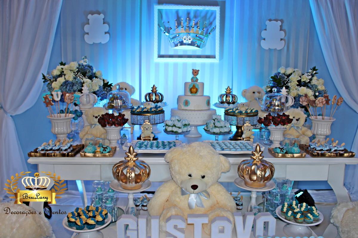 Decoraç u00e3o de Festa Chá de Beb u00ea Locaç u00e3o no Elo7 L M Decora Festas (682401) -> Decoração Cha De Bebe Tema Urso