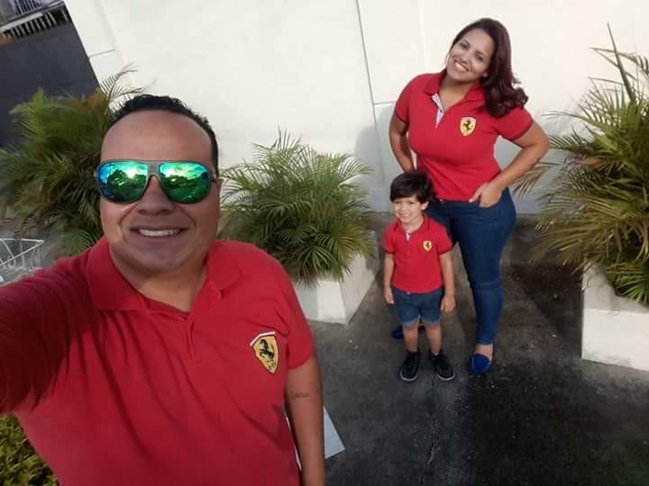 7943fa5d55 Tal Pai Tal Filho Camisa Polo Ferrari no Elo7
