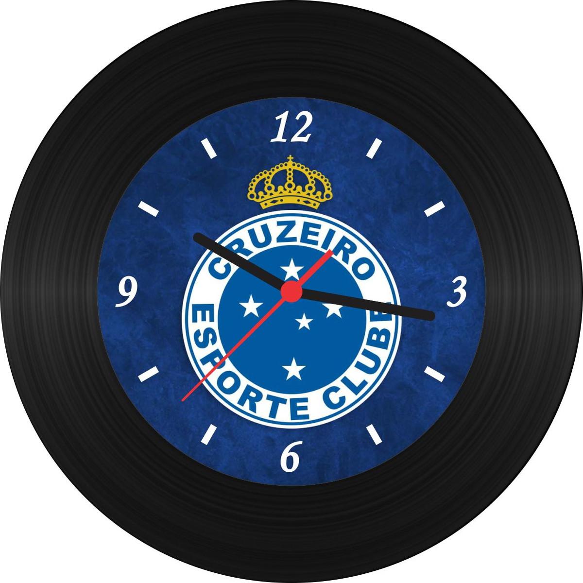 a91c91a07da Relógio de Vinil - Cruzeiro no Elo7